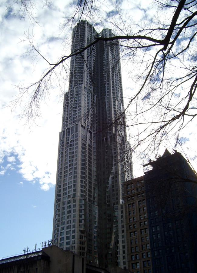 Башня «Бикман Тауэр». Фото: Beyond My Ken via Wikimedia Commons. Лицензия свободной документации GNU