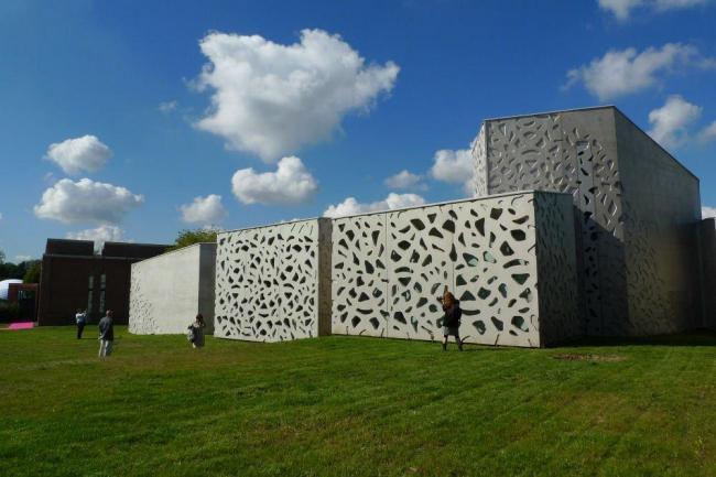 Музей современного искусства метрополии Лилля - новое крыло