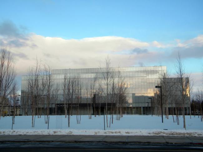Музей Анкориджа в Центре Расмусона. Фото: Argos'Dad via Wikimedia Commons. Лицензия Creative Commons Attribution 3.0