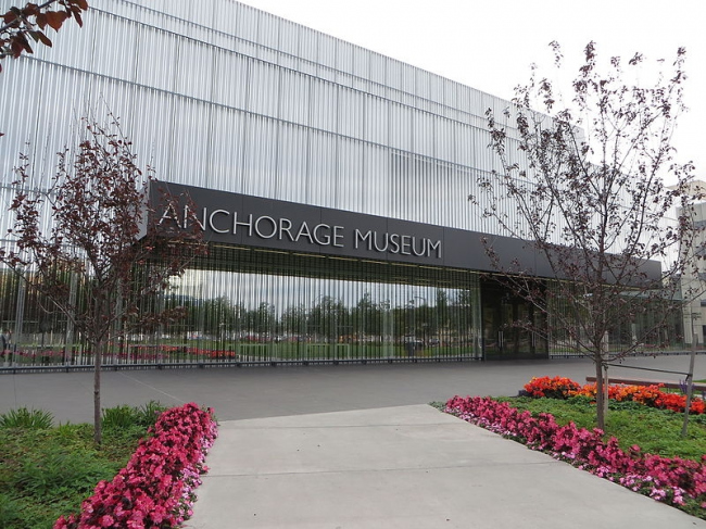 Музей Анкориджа в Центре Расмусона. Фото: Bernt Rostad via Wikimedia Commons. Лицензия CC-BY-2.0