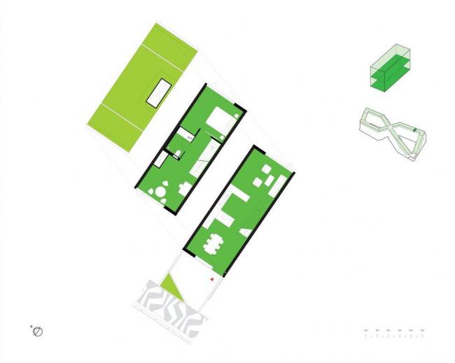 Жилой комплекс 8 HOUSE © BIG