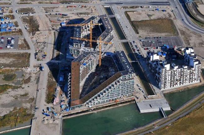 Жилой комплекс 8 HOUSE в процессе строительства. Фото © Dragor Lufthavn