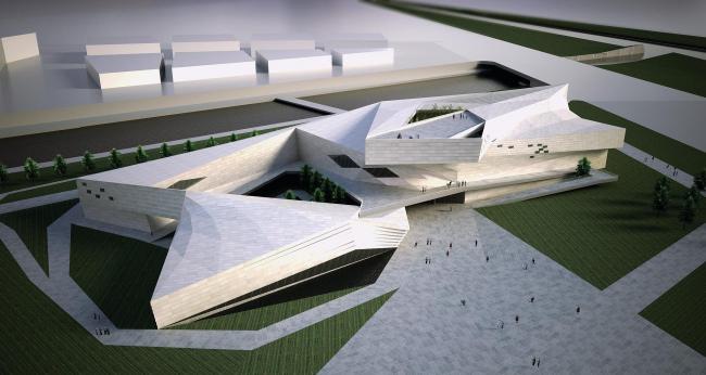 Taiyuan Museum of Art. Архитектор Preston Scott Cohen. Пример «дигитального барокко». Фото: http://www.architectmagazine.com/