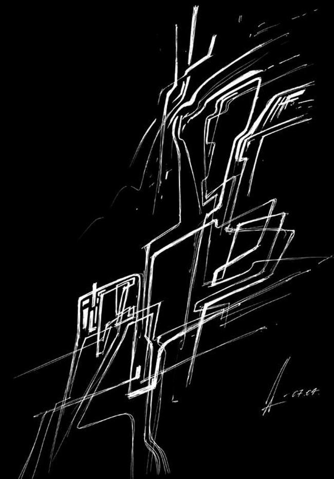 Интерьер квартиры на улице Астрадамская © Архитектурное бюро «Тотемент/Пейпер»