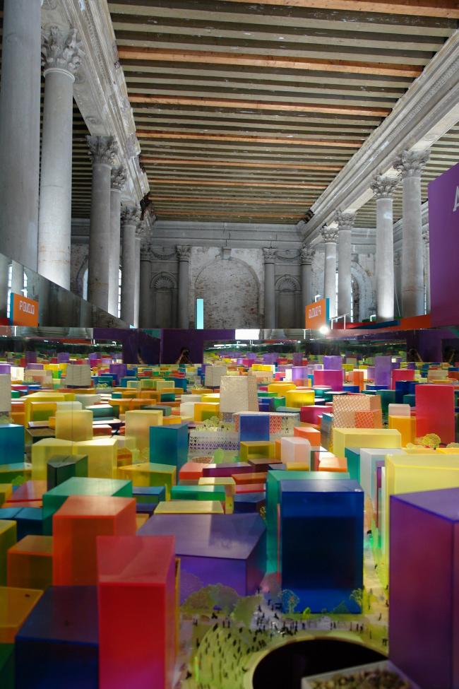 Проект Alison Brooks Architects на выставке Audi Urban Future Award. Фото Нины Фроловой