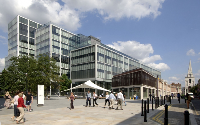 Комплекс 1 Bishop's Square – штаб-квартира Allen & Overy © Foster + Partners