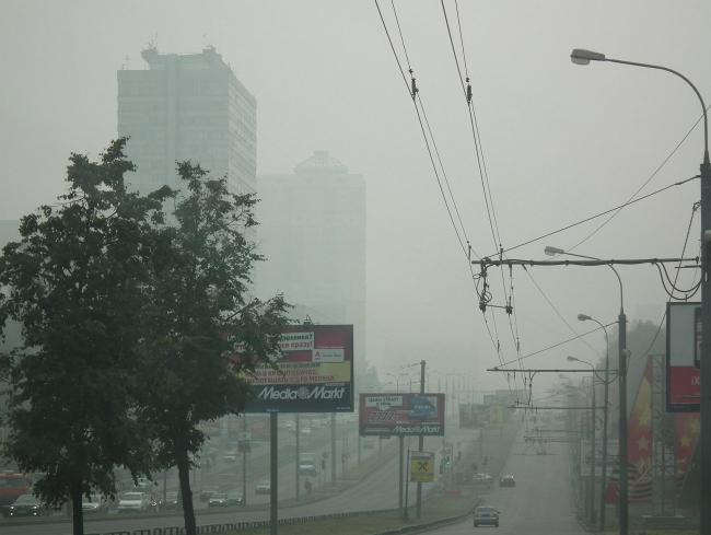 Москва в дыму. Лето 2010