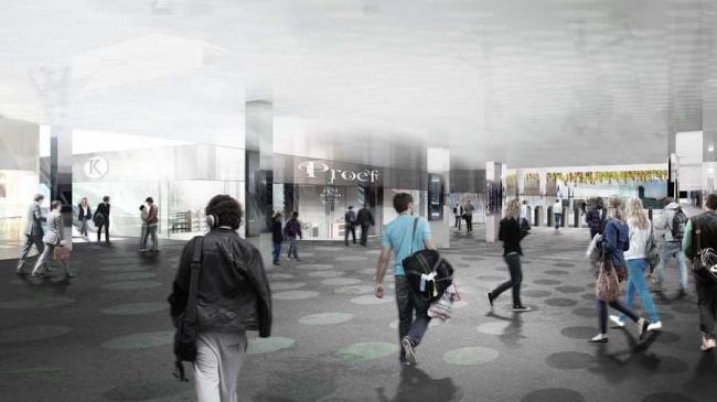 Центр «Эйхал» Центрального вокзала Амстердама
