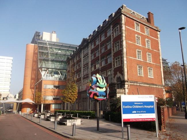 Детская больница «Эвелина». Фото: David Anstiss via Geograph. Лицензия CC BY-SA 2.0