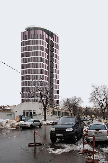 Многофункциональное здание в Бумажном проезде. ПТАМ Виссарионова