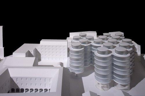 Конкурсный проект Луиса Мансильи и Эмилио Туньона