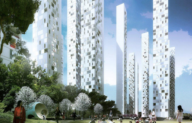 Жилой комплекс Block A4