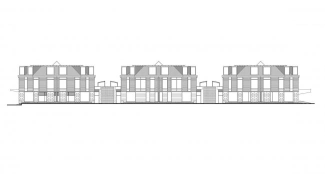 Четырехзвездочный отель «Новый Петергоф» © Архитектурное бюро «Студия 44»