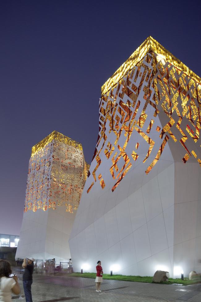 TOTEMENT PAPER. Российский павильон на ЭКСПО-2010 в Шанхае, 1 премия «Архновации» за постройку