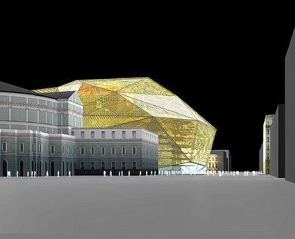 Доминик Перро. Проект нового здания Мариинского театра