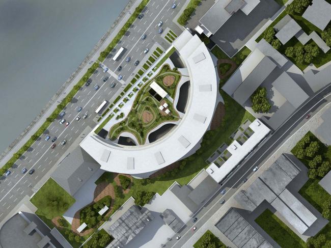 Жилой комплекс «Оазис» на Саввинской набережной © ТПО «Резерв»