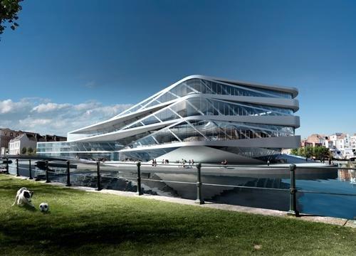Городская библиотека будущего и Центр новых медиа - конкурсный проект