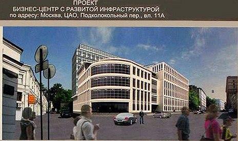 Проект бизнес-центра «Дон-строя» на Хитровской пл. Фото: http://moskva.kotoroy.net/