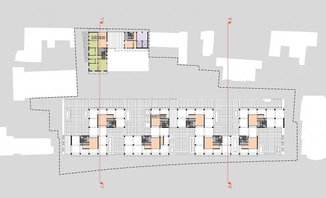 Конкурсный проект жилого комплекса на территории ОАО «Гардтекс»
