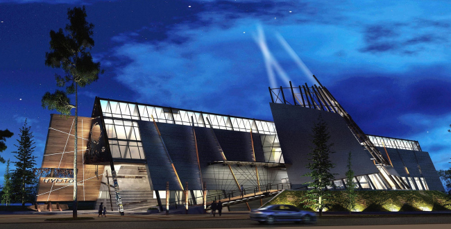 Экоцентр «Нуви ат», Центр особо охраняемых природных территорий, реализация, 2009-2010 © Валерий Лукомский, Сити-Арх