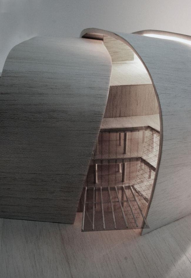 Киноконцертный комплекс Москва-СИТИ. Проект, 2009-2010 © ADM