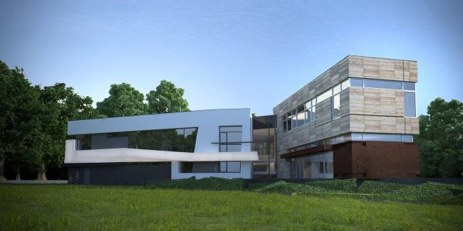 Индивидуальный жилой дом © Архитектурное бюро «Тотемент/Пейпер»