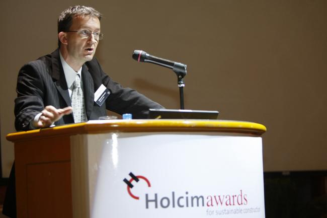 Эдвард Шварц, президент Holcim Foundation for Sustainable Construction