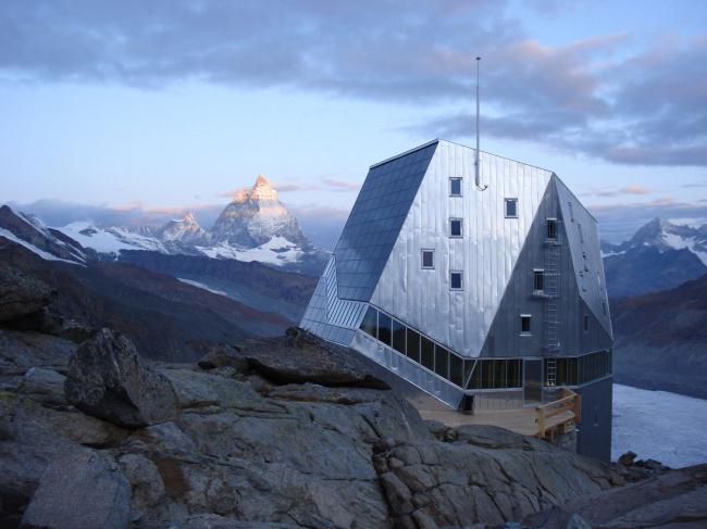 Monte Rosa Hut, Швейцарские Альпы