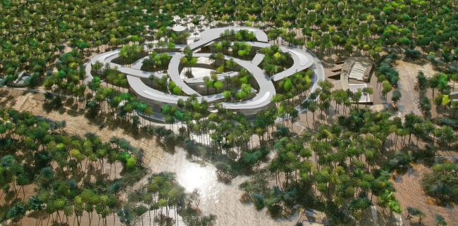 Проект университетского кампуса во вьетнамском городе Хо Ши Мин (Вьетнам)