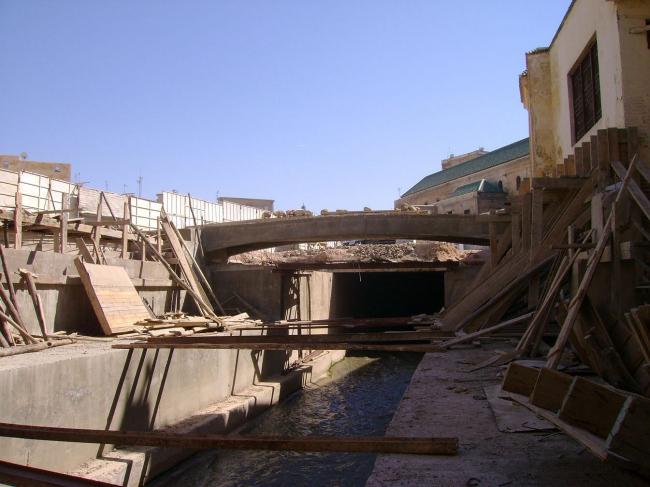 Проект восстановления и очистки реки Фес (Марокко)