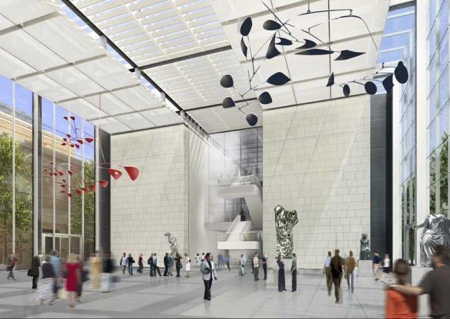 Музей изящных искусств в Бостоне. Проект © Foster+Partners