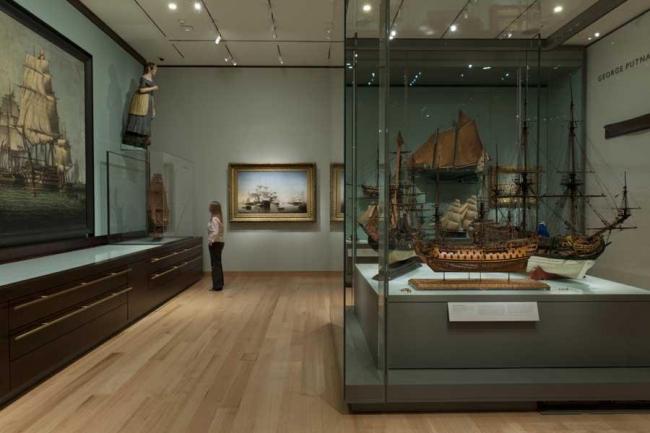 Музей изящных искусств в Бостоне. Фото © Nigel Young