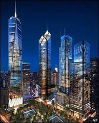 Центр Мировой Торговли в Нью-Йорке