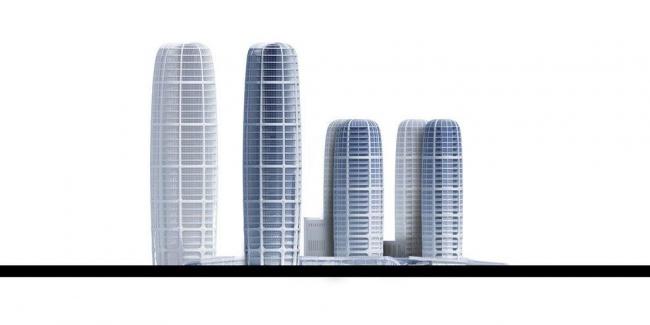 Новый городской центр Братиславы - улица Чуленова
