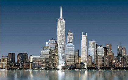 Центр Мировой Торговли. Визуализация.