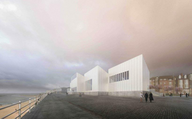 Галерея Turner Contemporary. Проект – октябрь 2007 © David Chipperfield Architects