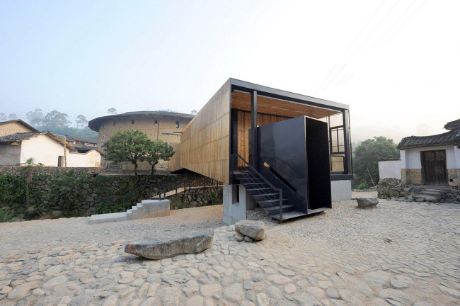 «Школа-мост» в Сяши бюро Li Xiaodong Atelier. 2008