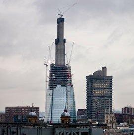 Строящийся небоскреб «Шард Лондон Бридж» стал самым высоким зданием Великобритании