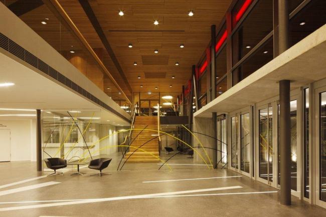 Центр культуры и конгрессов Штадтхалле Балинген – реконструкция © 4a Architekten