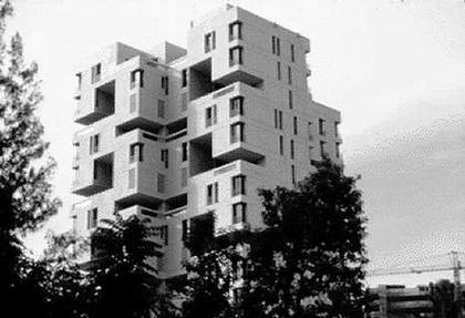 Башня «Хабитат 1». Сингапур. 1984
