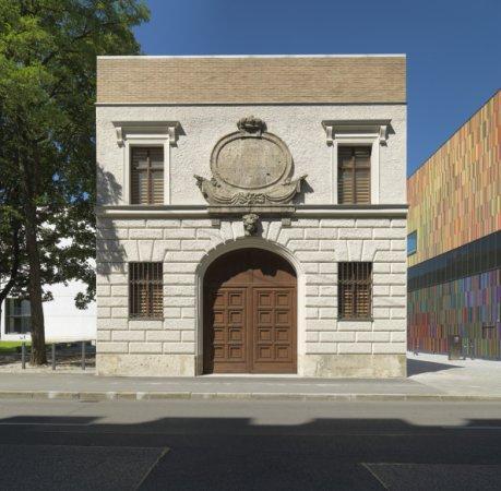 Музей Тюркентор. Справа - Музей Брандхорст. Фото Haydar Koyupinar © Bayerische Staatsgemaeldesammlungen