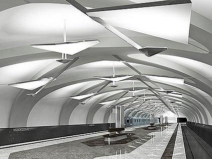 Станция метро «Новокосино». Проект. фото: Ольга Михайлова