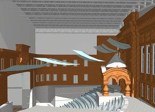 Проект реконструкции усадьбы Шаховских. Фото: http://www.archnadzor.ru/