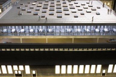 Корпус Мильстейна Университета Корнелла. Проект. Крыша здания