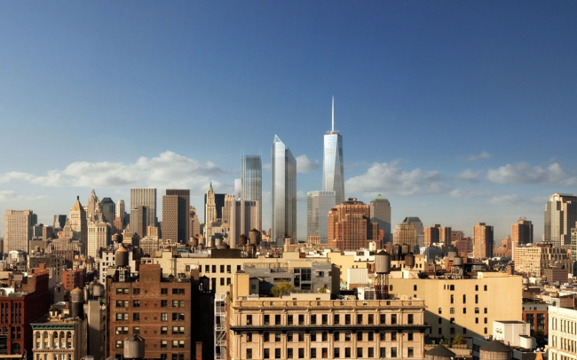 ЦМТ Башня 2 © Foster+Partners