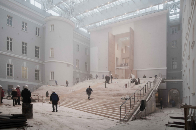 Государственный Эрмитаж, новая Большая Анфилада в восточном крыле Главного Штаба, Санкт-Петербург. Фотография © Алексей Народицкий