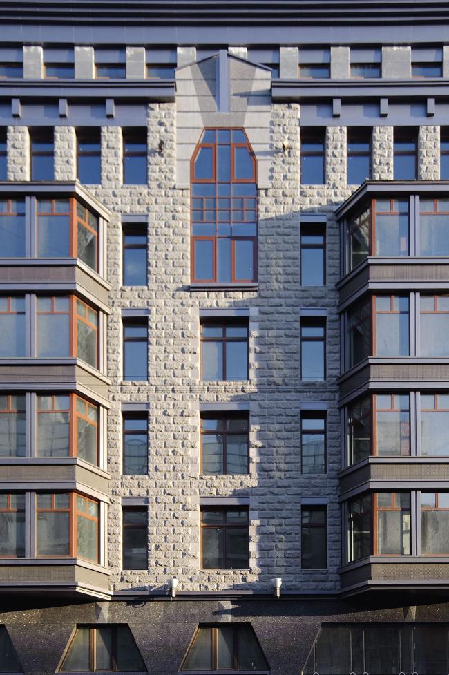 Жилой комплекс на Тверской улице в Санкт-Петербурге. Фото Алексея Народицкого