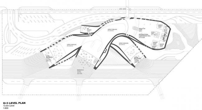 Терминал порта Гаосюна. План 3-го уровня