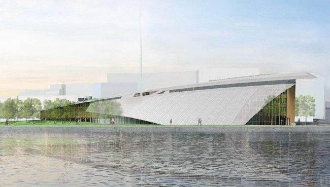 Ренцо Пьяно. Музей современного искусства Аструп-Фернли © RPBW