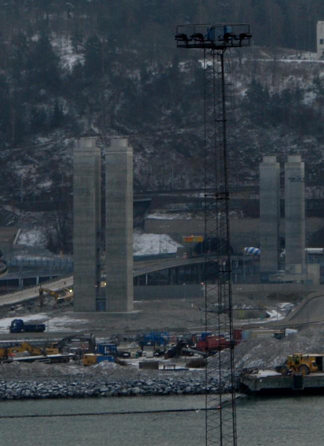 Вентилляционные башни тоннеля под фьордом в ближайшее время будут превращены в арт-объект